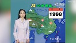 Video tổng hợp chặng đường 22 năm với vẻ đẹp gần như không thay đổi gì của nữ dẫn chương trình thời tiết.