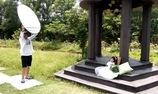 hậu trường chụp ảnh cưới cô gái khuyết tật Hòa