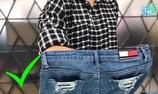 Cách chọn size quần jean vừa vặn mà không cần thử