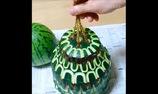 Những tác phẩm tỉa rau củ, trái cây của nghệ nhân Nhật