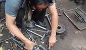 """Người dùng tự chữa bệnh """"cong giảm xóc"""" của Yamaha NVX"""