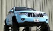 chiếc xe có khả năng tự nâng mình lên cao để tránh né các phương tiện khác