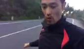 Johnny Trí Nguyễn lắp tạm chiếc Ducati Hypermotard và chạy thử