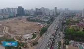 Cảnh tắc đường nhìn từ trên cao ở cửa ngõ thủ đô