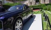 Rolls-Royce Sweptail tại sự kiện ra mắt.
