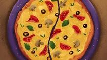 Cách cắt pizaa thông minh