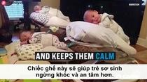 """Ghế """"nín khóc"""" Babacush nhận được nhiều lời khen từ các mẹ nuôi con nhỏ"""