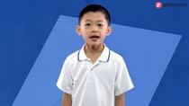 Evan kể rành mạch các nước đăng cai Olympic cùng thời gian đăng cai với tốc độ ánh sáng.