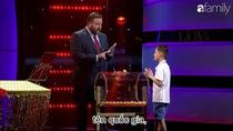 Thần đồng gốc Việt trong chương trình Little Big Shots Úc