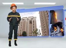 Kỹ năng thoát hiểm đám cháy tại nhà cao tầng