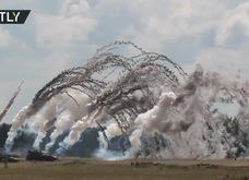 Cận cảnh cuộc tập trận rầm rộ của NATO sát biên giới Nga