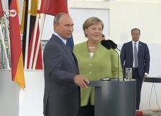 Tổng thống Nga Putin gặp Thủ tướng Đức Merkel