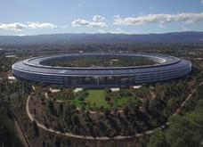 Toàn cảnh trụ sở chính của Apple nhìn từ trên cao