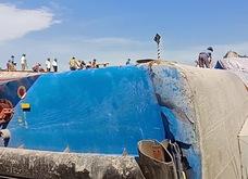 Cận cảnh hiện trường vụ lật tàu 2 người chết ở Thanh Hóa