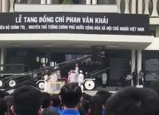 Phút mặc niệm tại Lễ truy điệu nguyên Thủ tướng Phan Văn Khải
