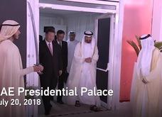 Thái tử Abu Dhabi tặng ngựa quý cho ông Tập Cận Bình
