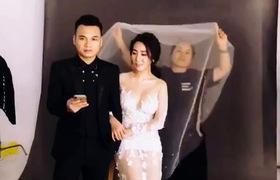 Hậu trường chụp ảnh cưới của Khắc Việt - Thanh Thảo