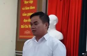 Hiệu trường tiều học Nam Trung Yên nói về bữa ăn của học sinh