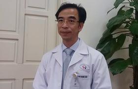 PGS.TS Nguyễn Quang Tuấn, Giám đốc Bệnh viện Tim Hà Nội chia sẻ về tác dụng khi cổ vũ bóng đá