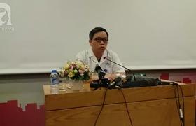 PGS.TS Trần Trung Dũng – Phó Giám đốc bệnh viện Đa khoa Xanh Pôn nói về cuộc trao đổi của bác sĩ trực với người nhà bệnh nhân