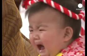 Nhật Bản: Cuộc thi trẻ càng khóc to, cha mẹ càng thích
