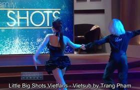 """""""Little Big Shots"""": Cặp đôi dance sport nhí khiến Steve Harvey không thể nhịn cười vì mối quan hệ phức tạp của cả 2."""