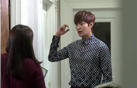 """""""Nụ hôn gió"""" của Lee Min Ho - Park Shin Hye trong """"The Heirs"""""""