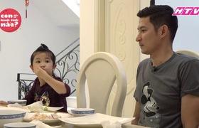 Gia đình Đăng Khôi, Huy Khánh mệt bở hơi tai khi lần đầu cho các nhóc tì gặp nhau