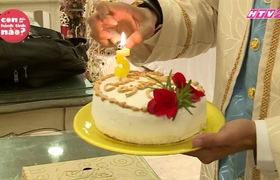 """""""Con đến từ hành tinh nào"""": Huy Khánh chuẩn bị bánh sinh nhật cho con gái"""