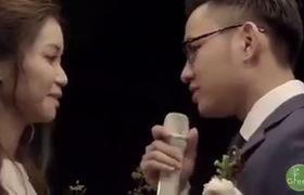 Clip ghi lại toàn cảnh đám cưới sân vườn của cô dâu Hà - chú rể Bách