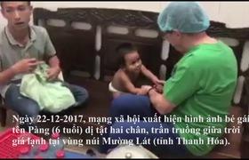 Thai phụ Sài Gòn vượt ngàn cây số cưu mang bé gái không thân thích.