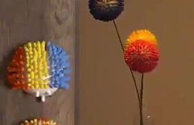 Những ý tưởng trang trí từ tăm bông cực độc đáo và sáng tạo!
