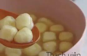 Cách làm Thạch viên phô mai tươi y hệt trà sữa Chi Lăng đã cập bến