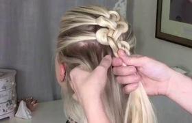 Tết tóc kiểu thắt nút cho các bạn gái phong cách mới lạ trong ngày thu