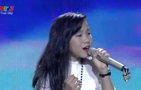 Gala Trung Thu The Voice Kids: Thu Hà - Quỳnh Anh.
