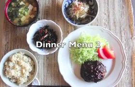 Ngắm món ăn cho bữa tối hấp dẫn của người Nhật Bản