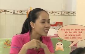 Kỹ Năng chăm sóc răng sữa cho bé