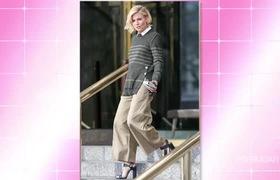 Phối đồ phong cách thời trang dạo phố cùng quần Culottes