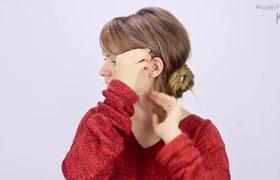 Kiểu tóc búi xinh xắn lấy ý tưởng từ Tuần Lễ Thời Trang New York