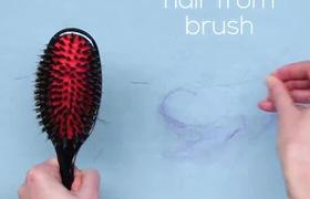"""Mẹo hay làm sạch lược chải tóc """"vật bất ly thân"""""""