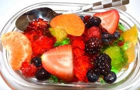 Tự làm đông sương trộn trái cây siêu ngon giải nhiệt mùa hè