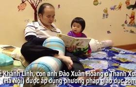 Bé gái Hà Nội 4 tuổi nói tiếng Anh như tiếng Việt