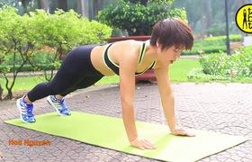 Cùng huấn luyện viên trải qua 8 thử thách plank mỗi ngày để bụng phẳng sau 2 tuần