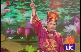 """""""Táo Quân 2013"""": Táo kinh tế Quang Thắng báo cáo qua bài hát """"Hoang mang style""""."""