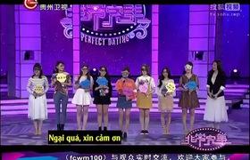 """""""Phi thường hoàn mỹ"""" tập ngày 8/3: Trương Man Nhu nổi bật trong số 8 cô gái đến lựa chọn nhờ câu chuyện bỏ việc đi kiếm bạn trai của mình."""
