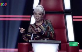 """""""The Voice 2017"""": Vòng Đối đầu Tập 2: """"Xinh - What is love - Em không cần anh - Không"""" - Anh Phong - Ngọc Ny - Chí Huy"""