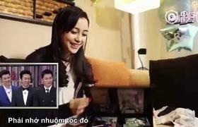 Clip Angelababy xuất hiện cùng con trai Tiểu Hải Miên