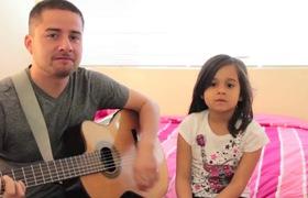 Cặp bố đơn thân và con gái hát ngêu ngao làm nên câu chuyện đổi đời kì diệu