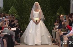 Chiêm ngưỡng những bộ váy cưới tinh tế của nhà thiết kế Carolina Herrera