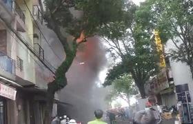 Cháy lớn ở trung tâm thành phố Buôn Ma Thuột
